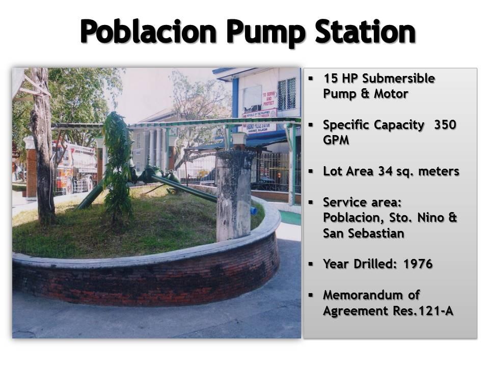 1. Poblacion Pump Station