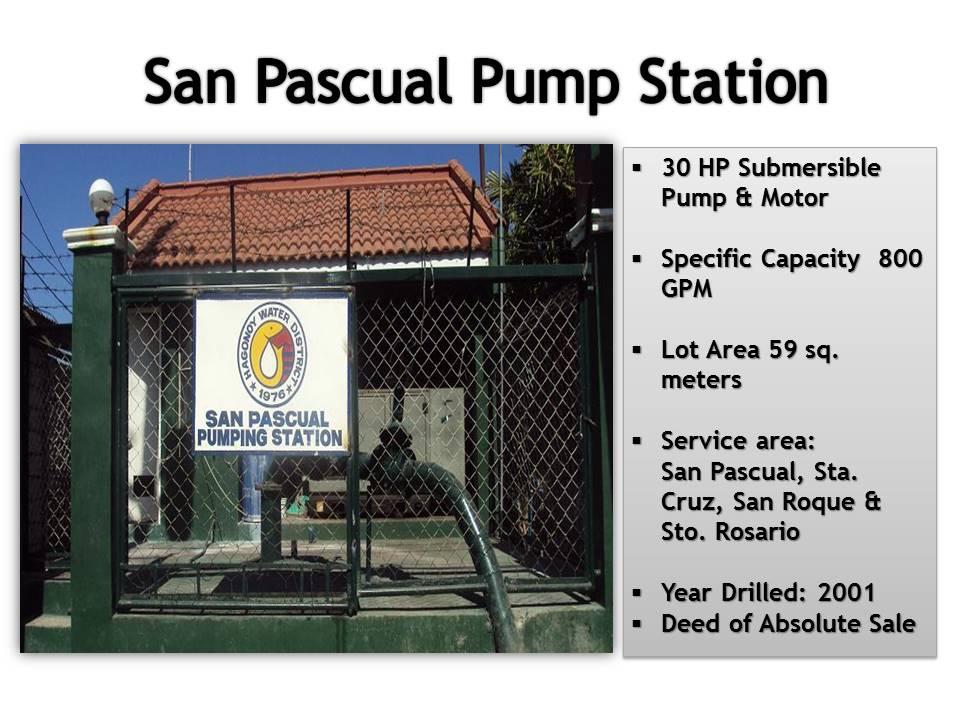 10. San Pascual Pum Station