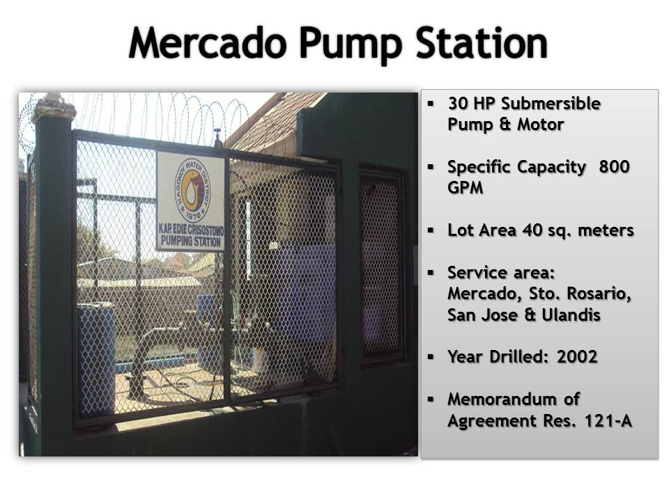 11. Mercado Pump Station