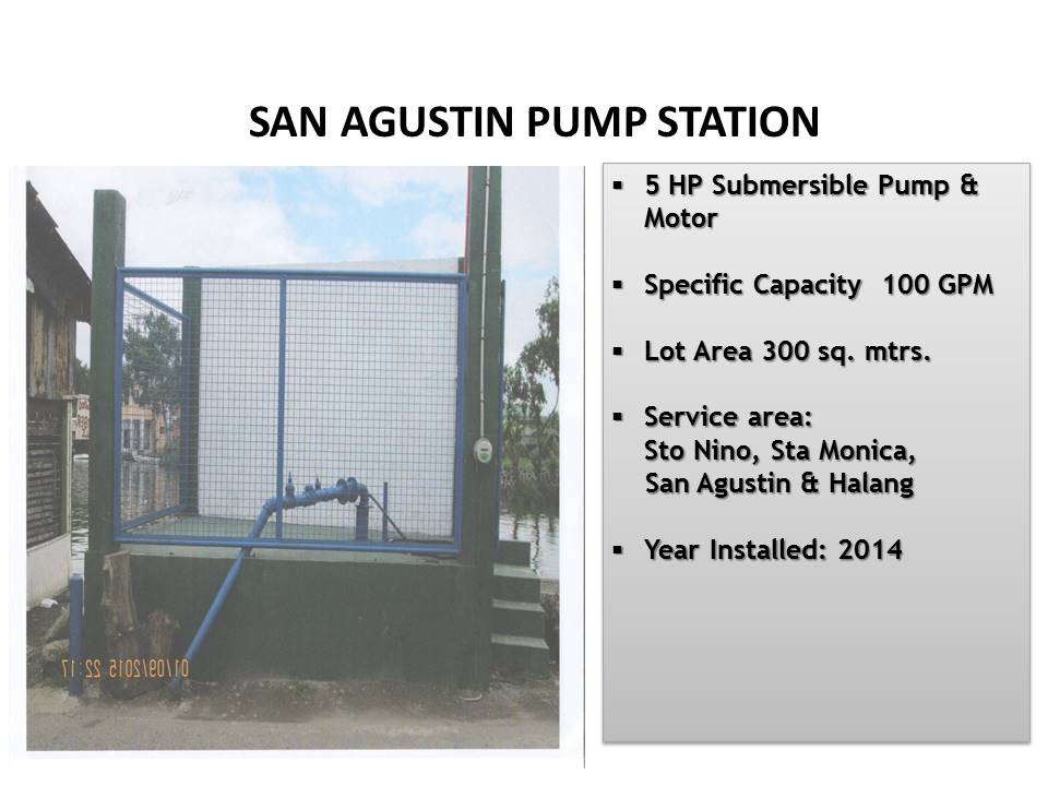 4. San Agustin Pump Station