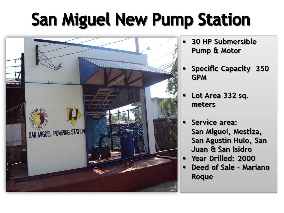 6. San Miguel New Pump Station