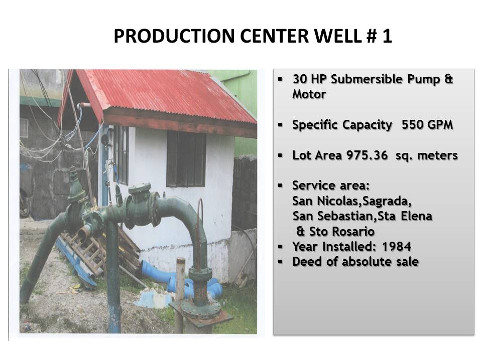 9. San Nicolas Production Center Well # 1